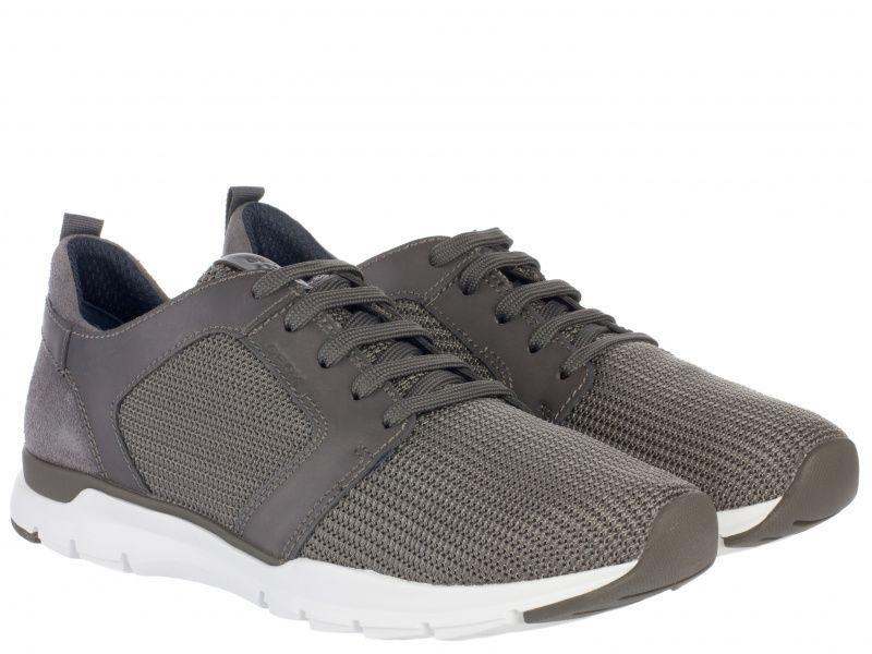 Кроссовки для мужчин Geox U CALAR B - TEXT+SMOOTH LEA XM1732 размеры обуви, 2017