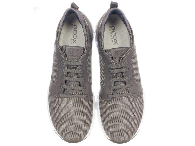 Кроссовки для мужчин Geox U CALAR B - TEXT+SMOOTH LEA XM1732 брендовая обувь, 2017