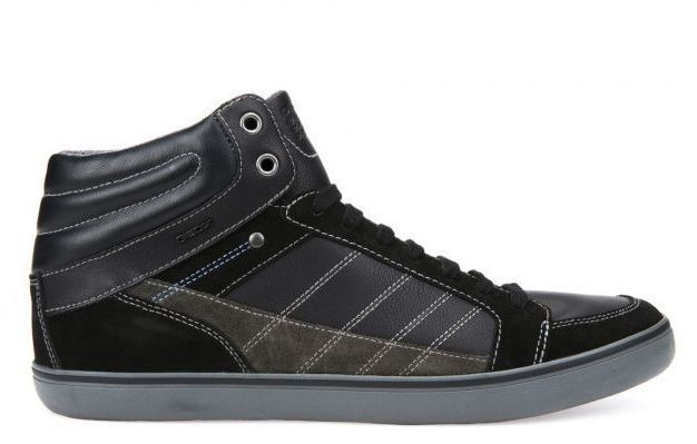 Ботинки мужские Geox U BOX XM1772 размерная сетка обуви, 2017