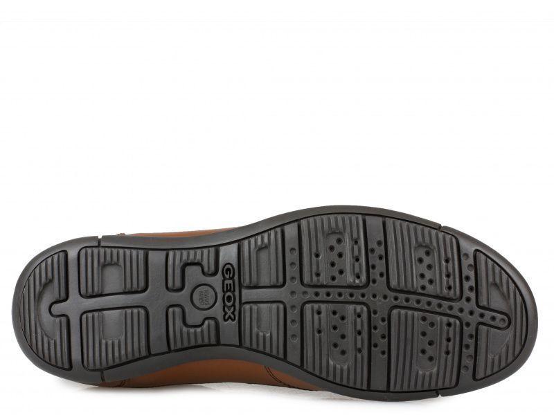 Полуботинки для мужчин Geox U EDGWARE B - VIT.LIS+VIT.SINT XM1807 размерная сетка обуви, 2017