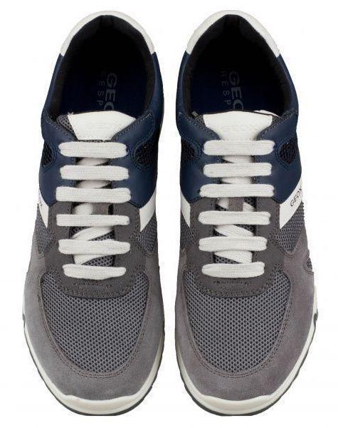 Кроссовки для мужчин Geox U WILMER B - MESH+SCAMOSCIATO XM1809 цена, 2017