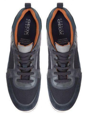 Кроссовки для мужчин Geox U WILMER A - MESH+SCAMOSCIATO XM1810 купить в Украине, 2017