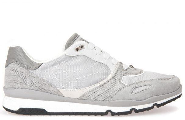 Кроссовки для мужчин Geox U SANDFORD A - SCAM.+TESSUTO XM1813 брендовая обувь, 2017