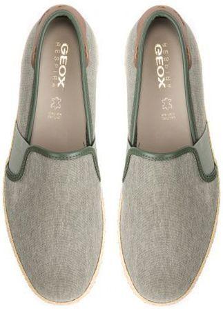 Слипоны для мужчин Geox U COPACABANA B - TELA SLAV. XM1818 брендовая обувь, 2017