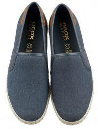Слипоны для мужчин Geox U COPACABANA B - TELA SLAV. XM1819 брендовая обувь, 2017