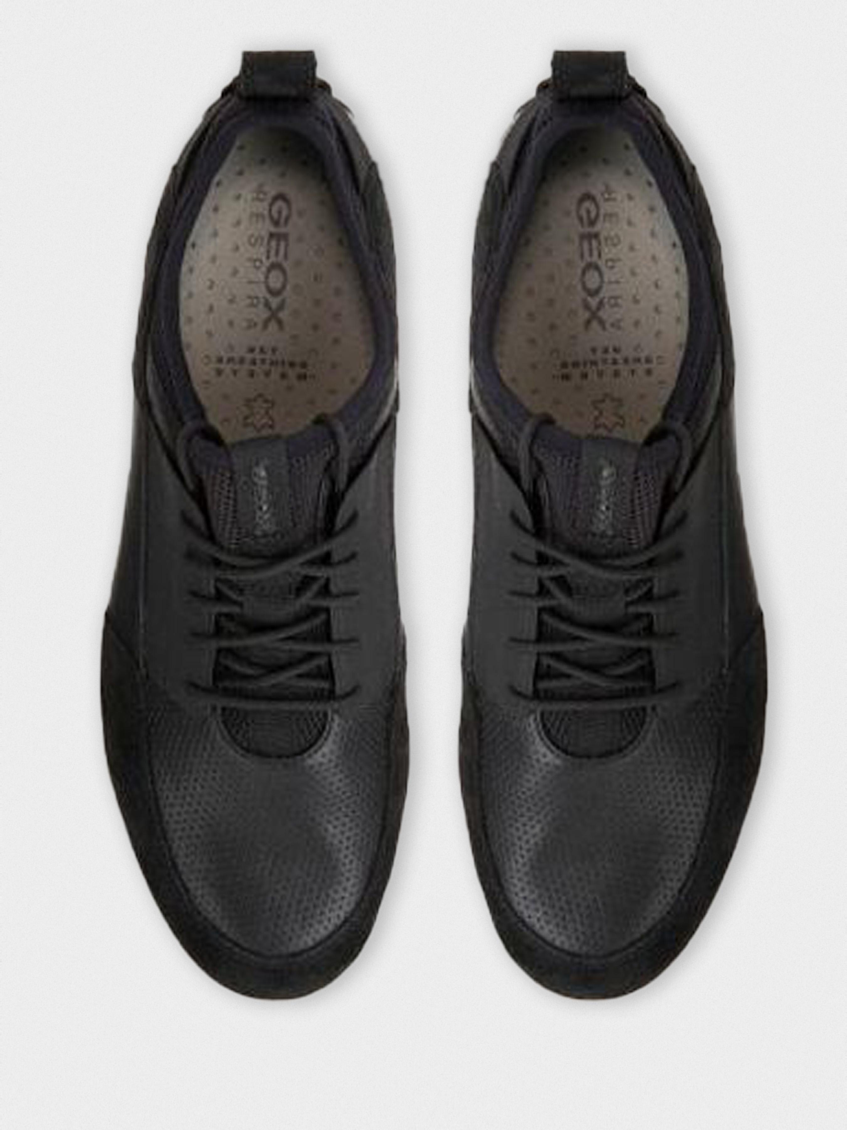 Кроссовки для мужчин Geox U TRACCIA A - NAPPA+SCAMOSC XM1824 примерка, 2017