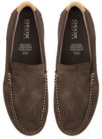 Мокасины для мужчин Geox U YOOKING B - SCAM. XM1826 брендовая обувь, 2017