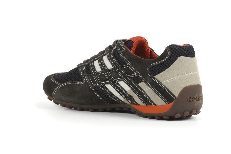 Полуботинки для мужчин Geox U SNAKE K - SCAM.+MESH XM1862 размеры обуви, 2017