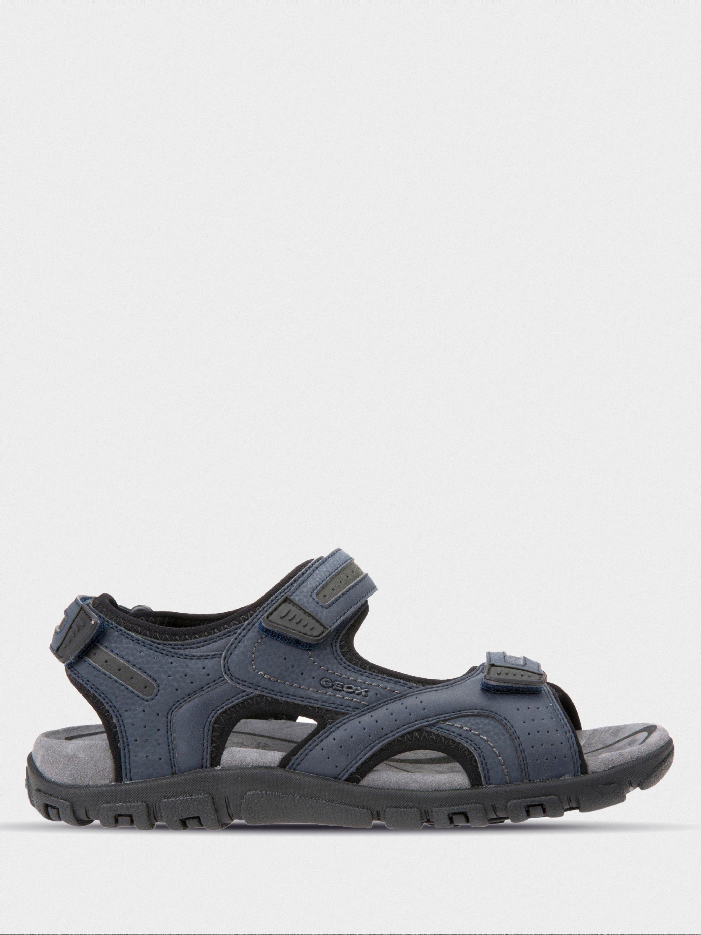 Сандалии для мужчин Geox U S.STRADA D - VIT.SINT.+DBK XM1864 размеры обуви, 2017