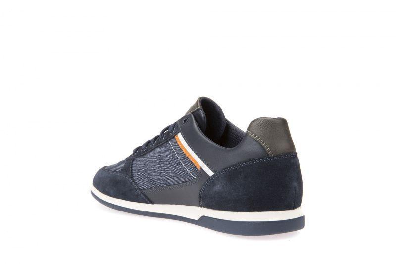 Полуботинки мужские Geox U RENAN B - SCAM.+TESSUTO XM1865 размеры обуви, 2017