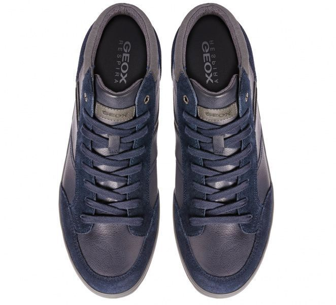 Ботинки мужские Geox BOX XM1911 размерная сетка обуви, 2017