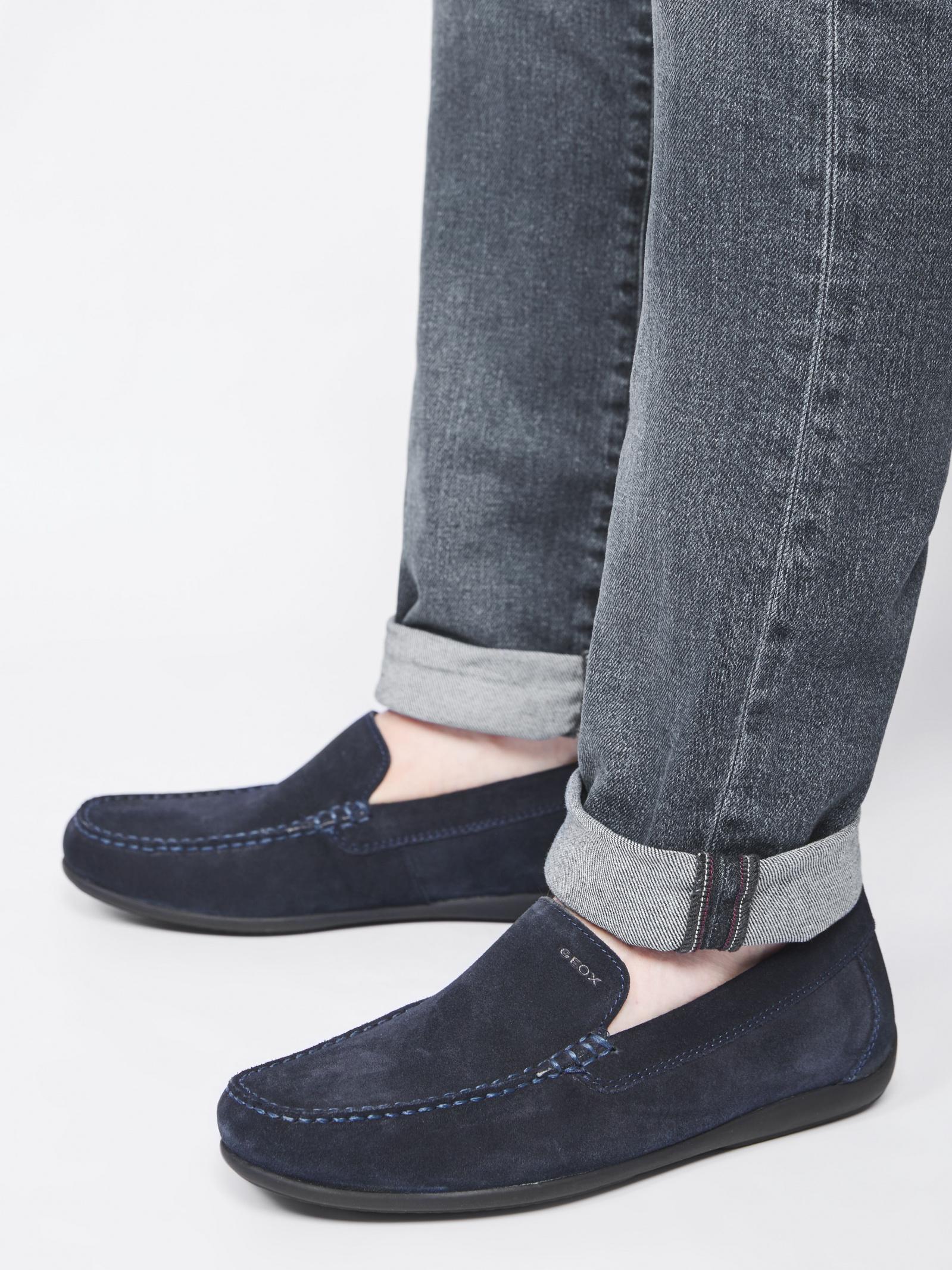 Мокасины мужские Geox U ASCANIO U020WA-00022-C4002 брендовая обувь, 2017