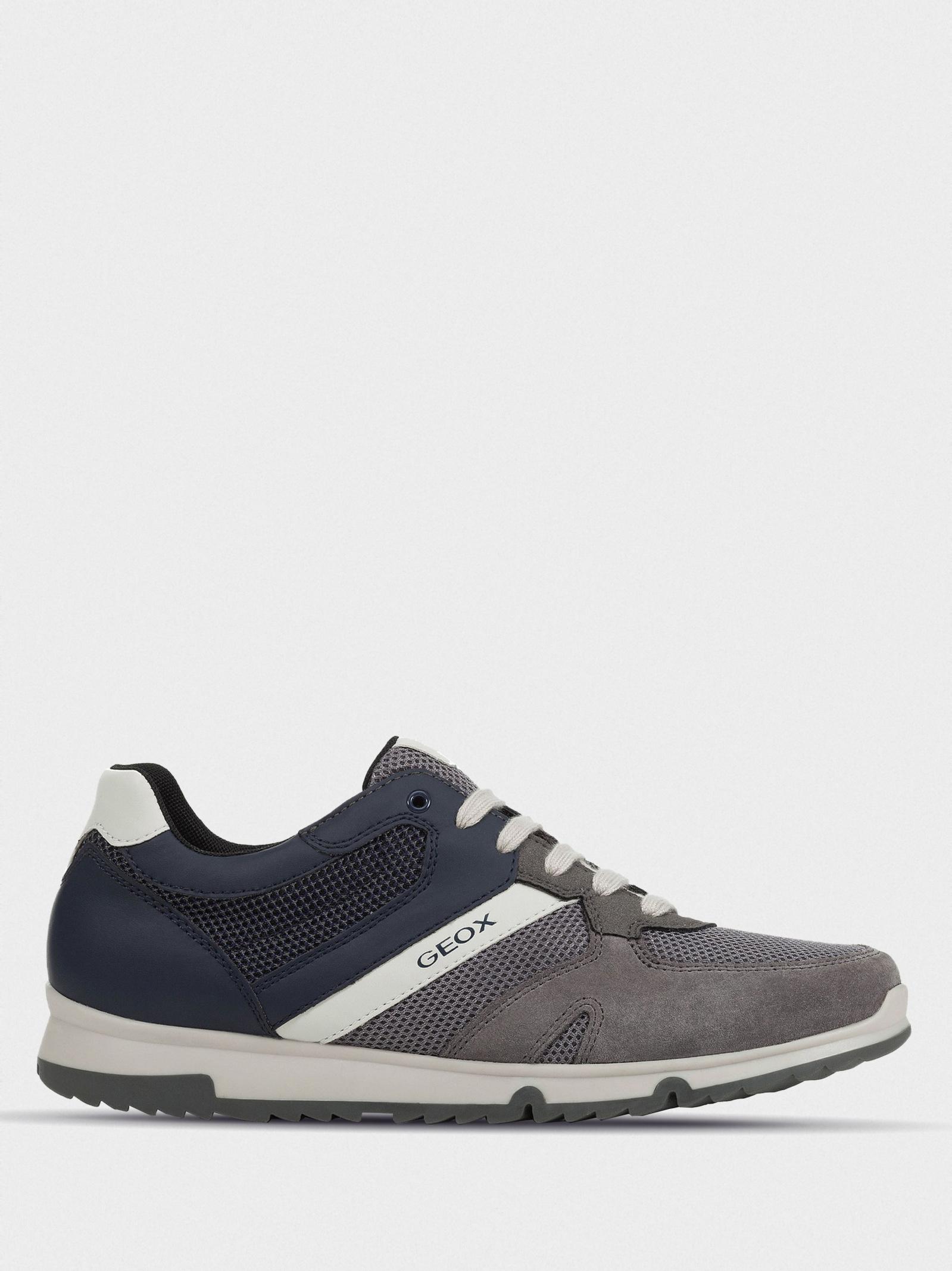 Кроссовки для мужчин Geox U WILMER U023XC-01422-C9AF4 купить в Интертоп, 2017