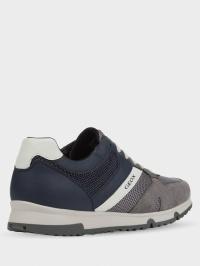 Кроссовки для мужчин Geox U WILMER U023XC-01422-C9AF4 брендовая обувь, 2017