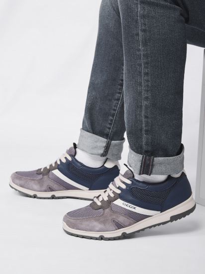 Кроссовки для мужчин Geox U WILMER U023XC-01422-C9AF4 смотреть, 2017