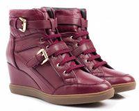 Женские ботинки красные, фото, intertop