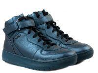 женская обувь Geox синего цвета приобрести, 2017