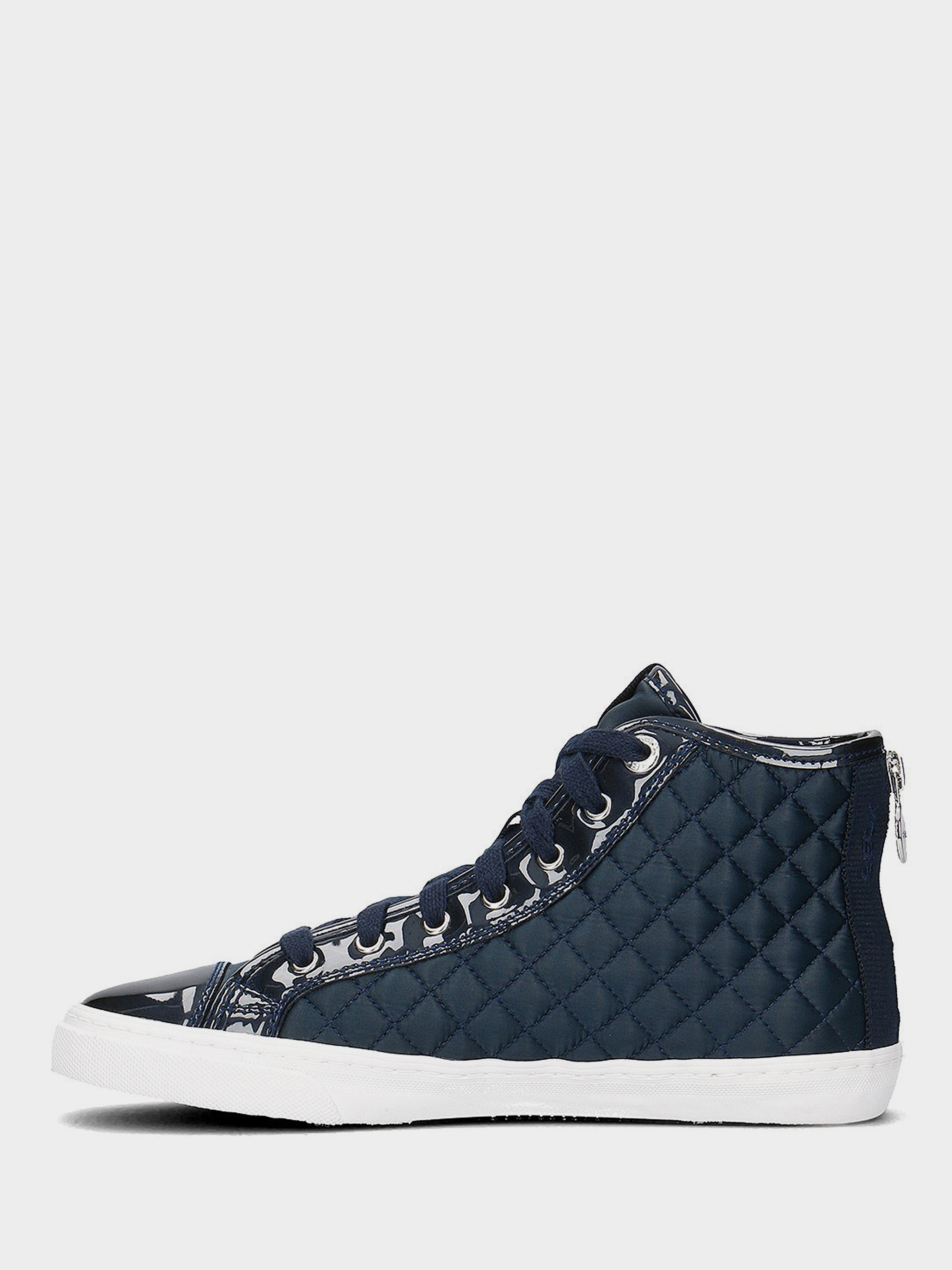 Ботинки для женщин Geox D N.CLUB A - NYLON+MET.SYN.PAT XW3041 купить в Интертоп, 2017