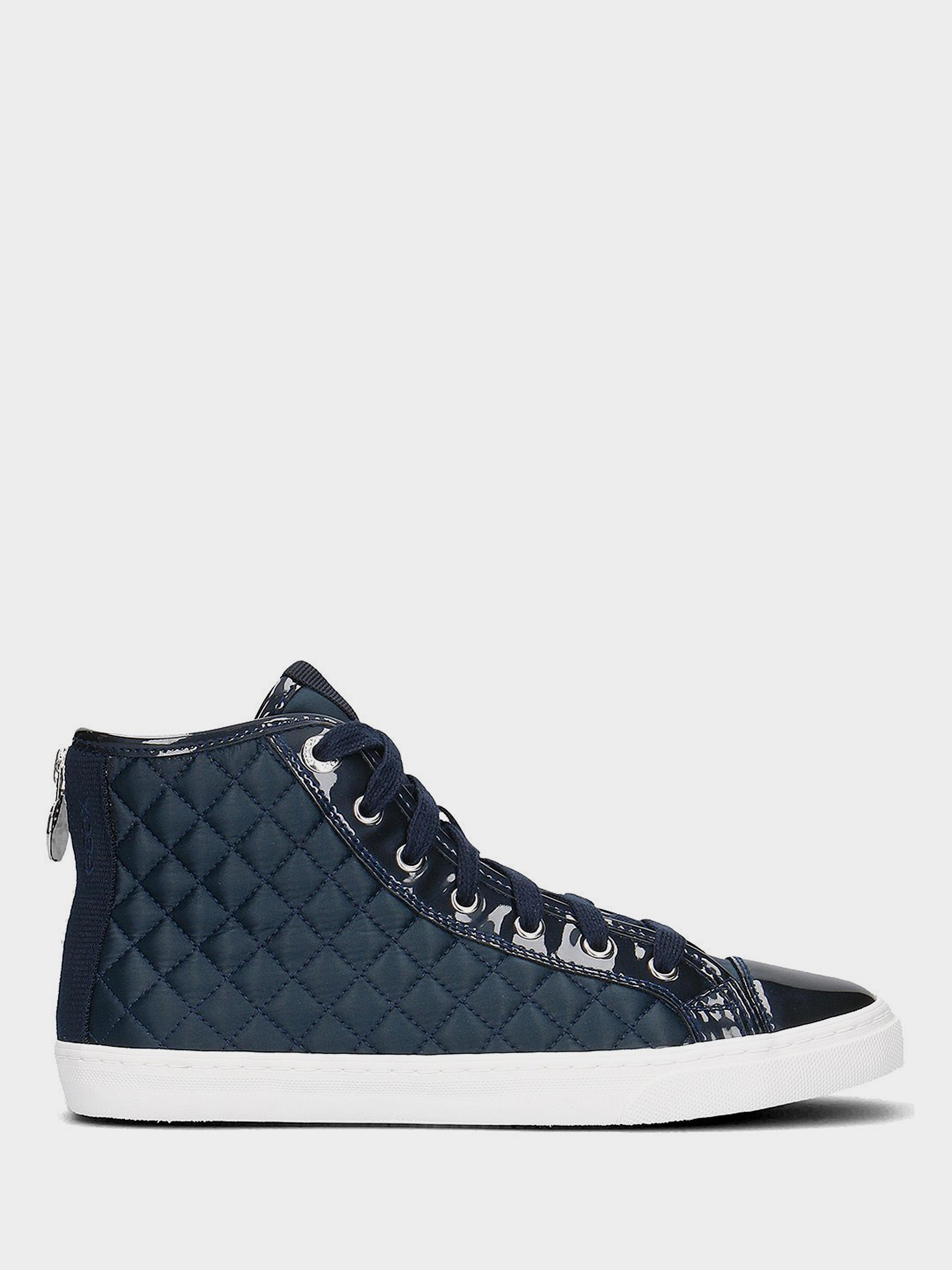 Ботинки для женщин Geox D N.CLUB A - NYLON+MET.SYN.PAT XW3041 брендовая обувь, 2017