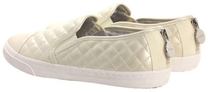 Cлипоны для женщин Geox D N.CLUB C - PEARL.SYNT.LEA XW3043 брендовая обувь, 2017