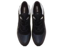 Кроссовки для женщин Geox D SHAHIRA B - SUEDE+SHI.MESH D62N1B-022GN-C9999 модные, 2017