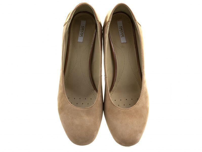 Туфли для женщин Geox D AUDALIES M.C - G.SU+ME.SY.PA XW3103 примерка, 2017