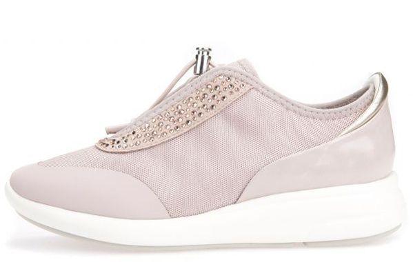 Кроссовки для женщин Geox D OPHIRA E - MESH+GEOBUCK XW3239 размерная сетка обуви, 2017
