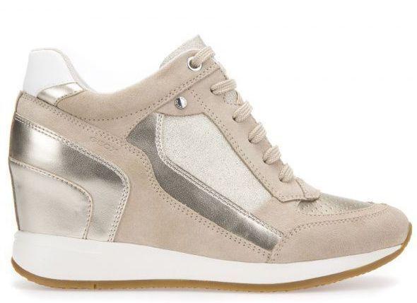 Ботинки для женщин Geox D NYDAME A - SCAM.+TESS.BRILL. XW3276 брендовая обувь, 2017