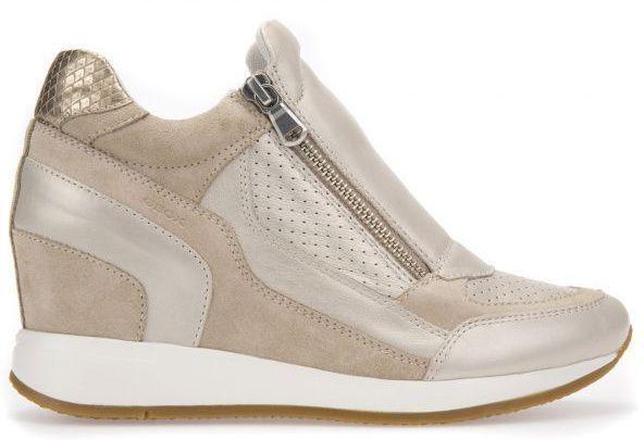 Ботинки для женщин Geox D NYDAME A - VIT.PERL.+SCAM. XW3277 размерная сетка обуви, 2017
