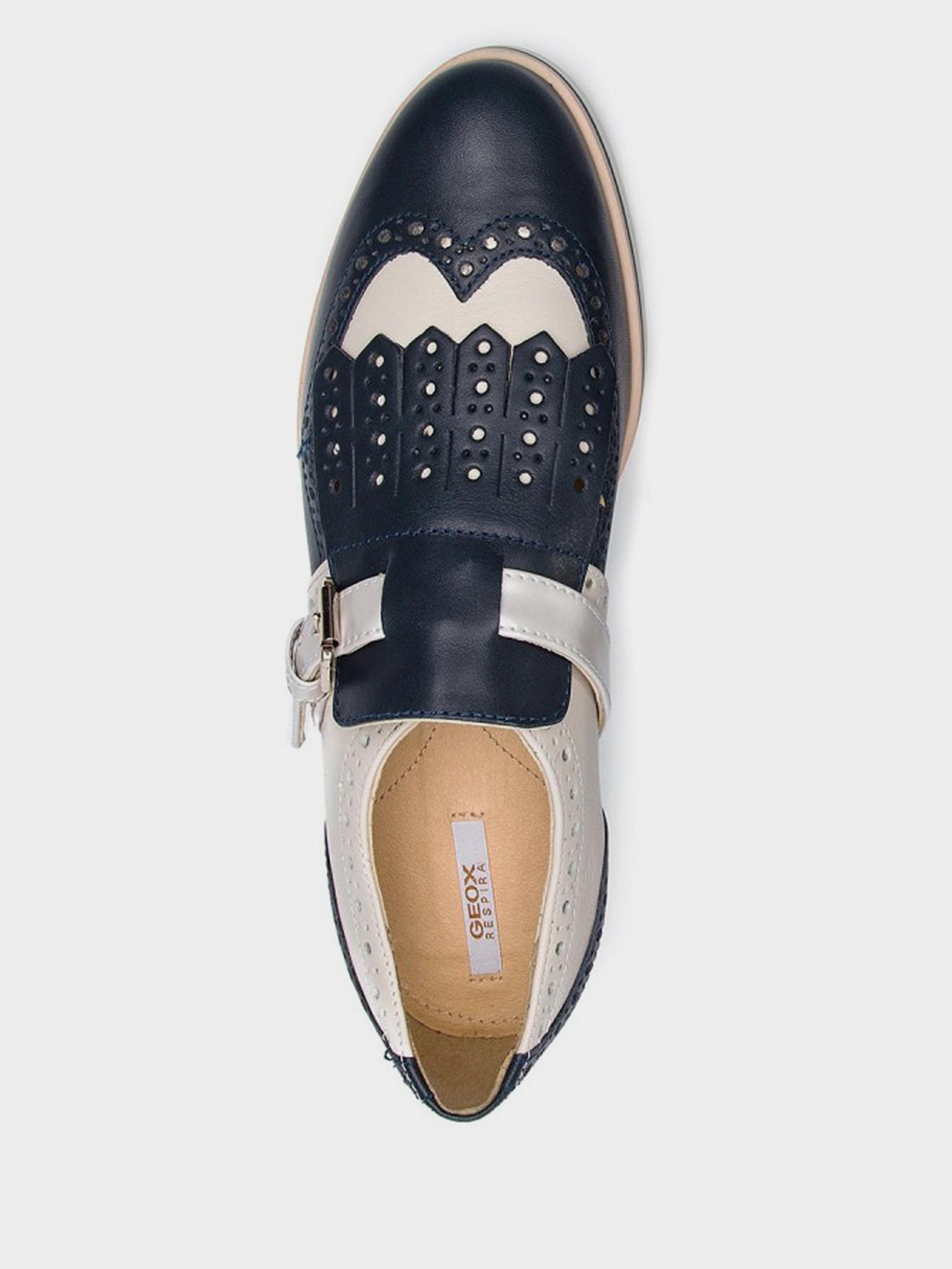 Полуботинки для женщин Geox D JANALEE B - VIT.LISCIO+NAPPA XW3292 обувь бренда, 2017