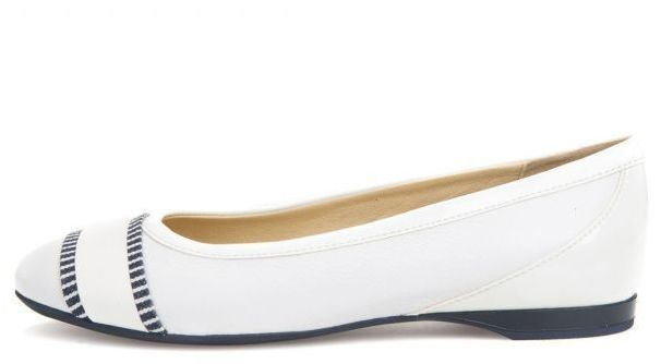 Балетки для женщин Geox D LAMULAY C - NAPPA+GEOBUCK XW3293 размерная сетка обуви, 2017