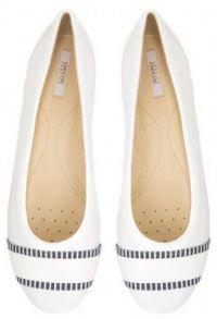 Балетки для женщин Geox D LAMULAY C - NAPPA+GEOBUCK XW3293 брендовая обувь, 2017