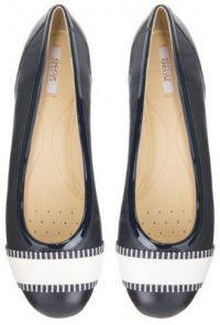Балетки для женщин Geox D LAMULAY C - NAPPA+GEOBUCK XW3294 брендовая обувь, 2017