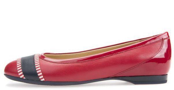Балетки для женщин Geox D LAMULAY C - NAPPA+GEOBUCK XW3295 размерная сетка обуви, 2017