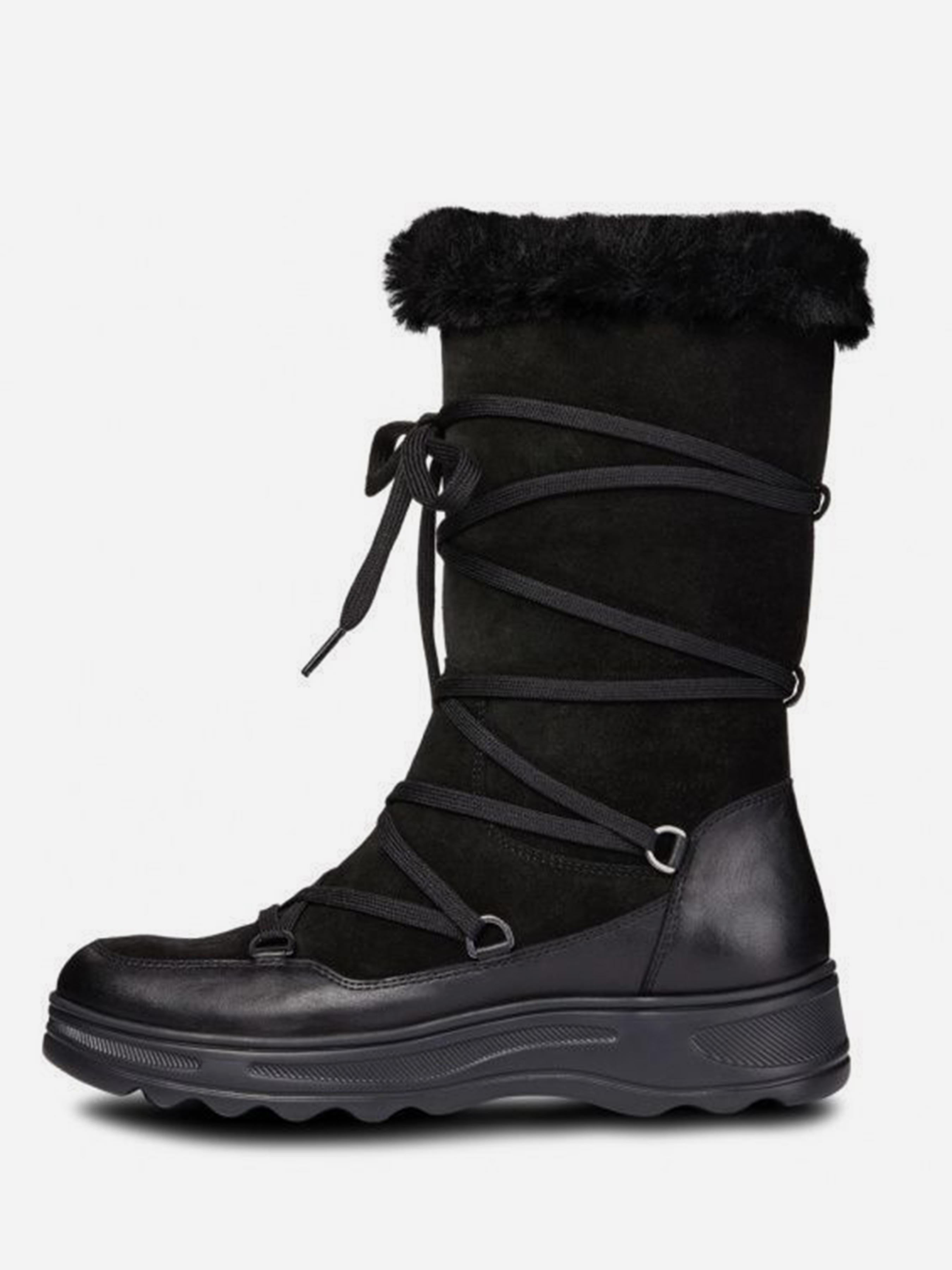Сапоги женские Geox HOSMOS ABX XW3381 модная обувь, 2017