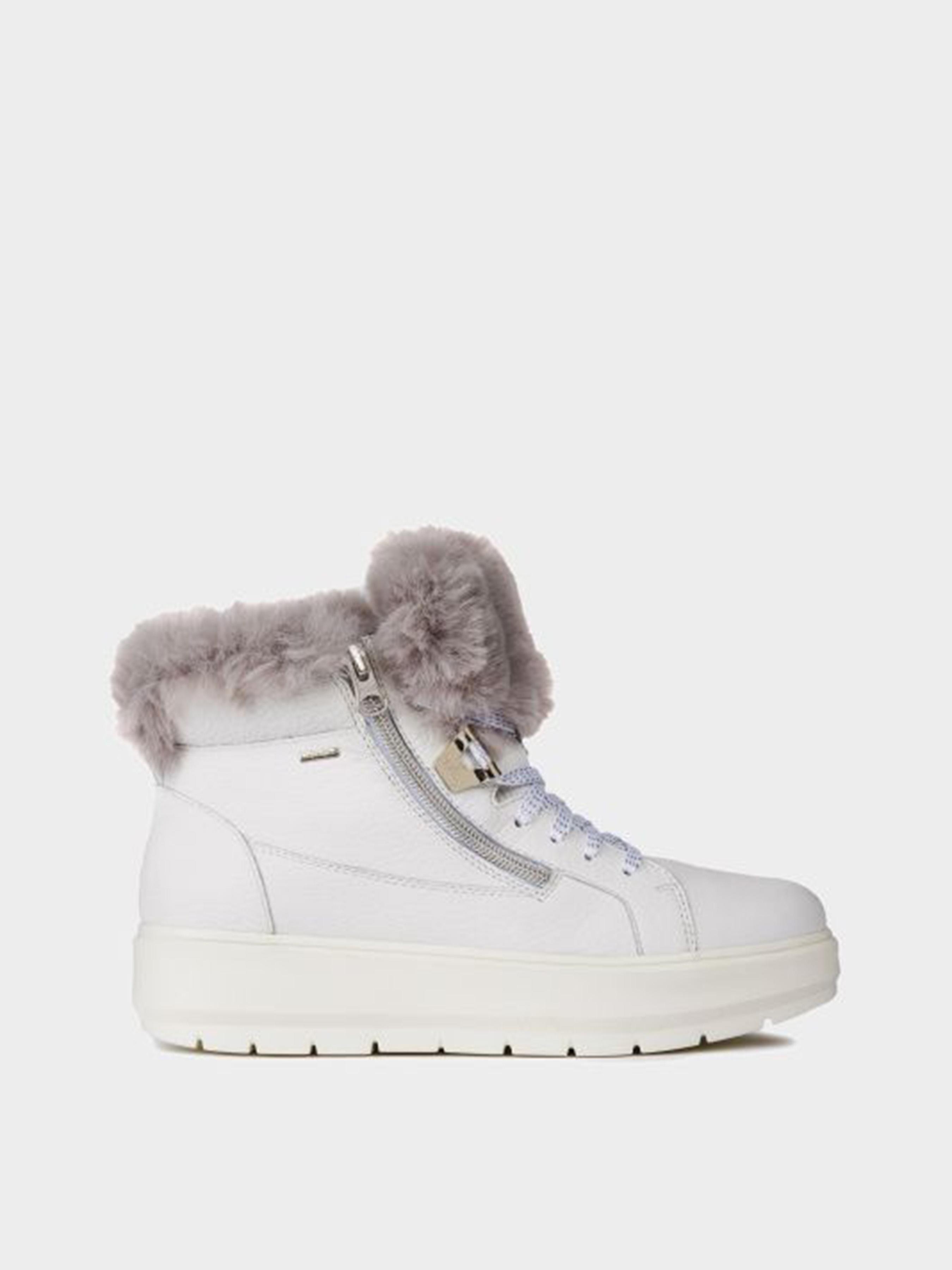 Купить Ботинки женские Geox D KAULA B ABX XW3619, Белый