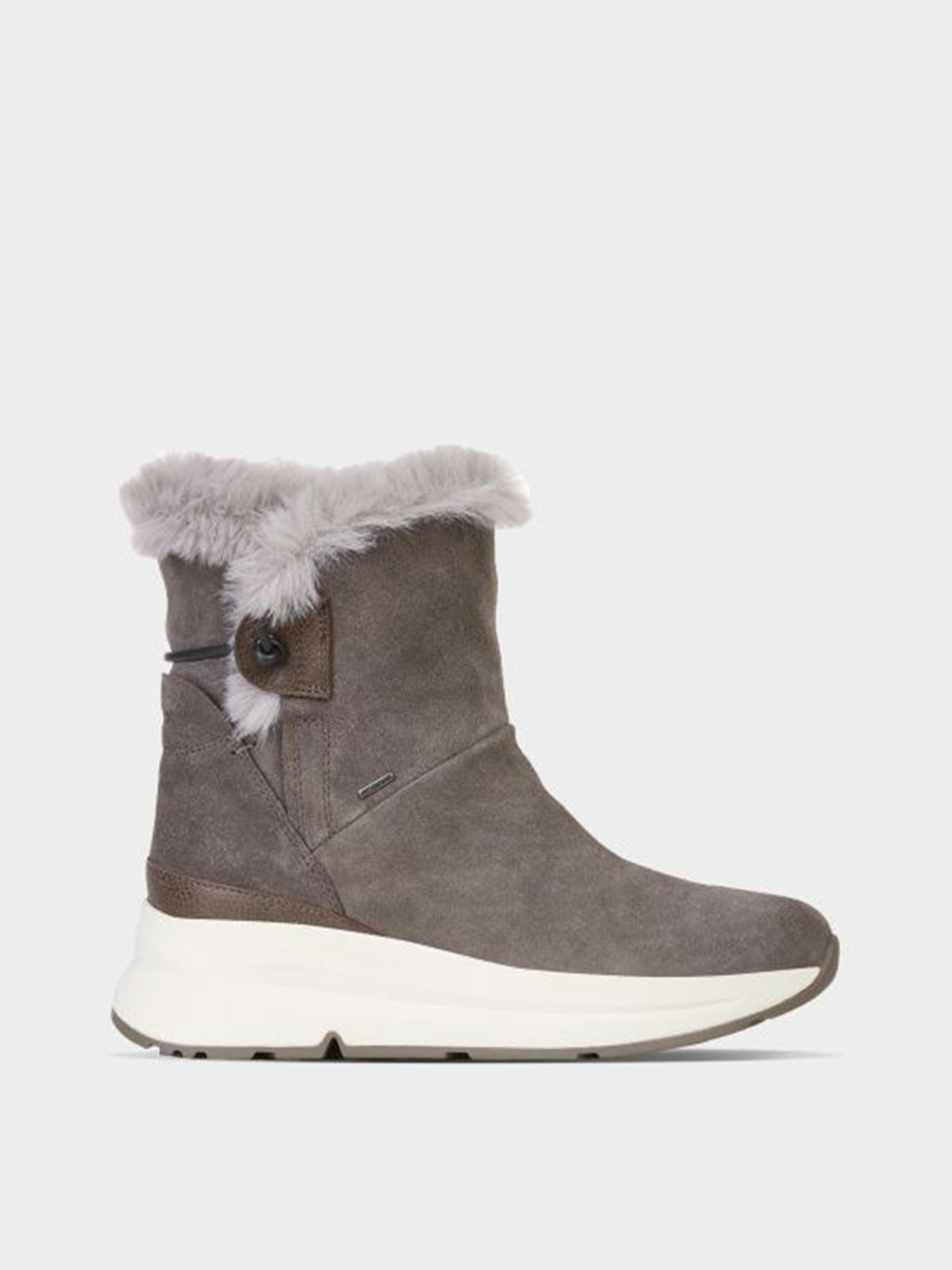 Купить Ботинки женские Geox D BACKSIE B ABX XW3716, Коричневый