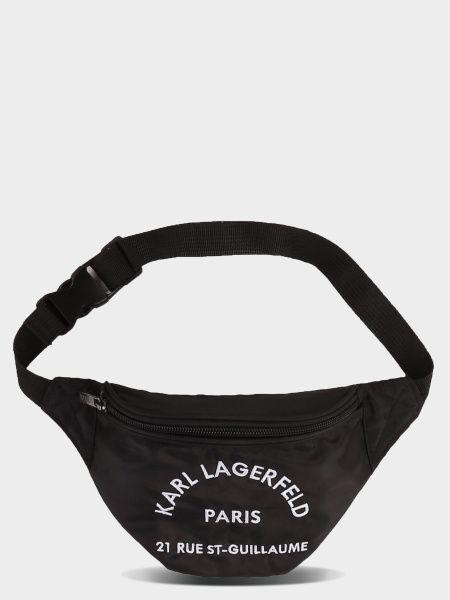 Купить Сумка на пояс модель XX30, KARL LAGERFELD, Черный