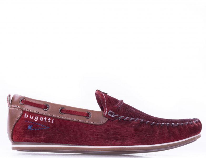 Купить Мокасины мужские Bugatti Cherokee YD115, Красный