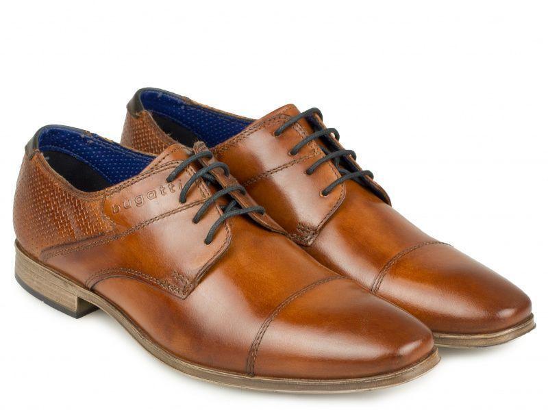 Туфли мужские Bugatti Morino YD64 размерная сетка обуви, 2017