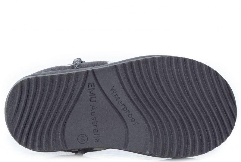 Чоботи  для дітей EMU K11829-charcoal купити взуття, 2017