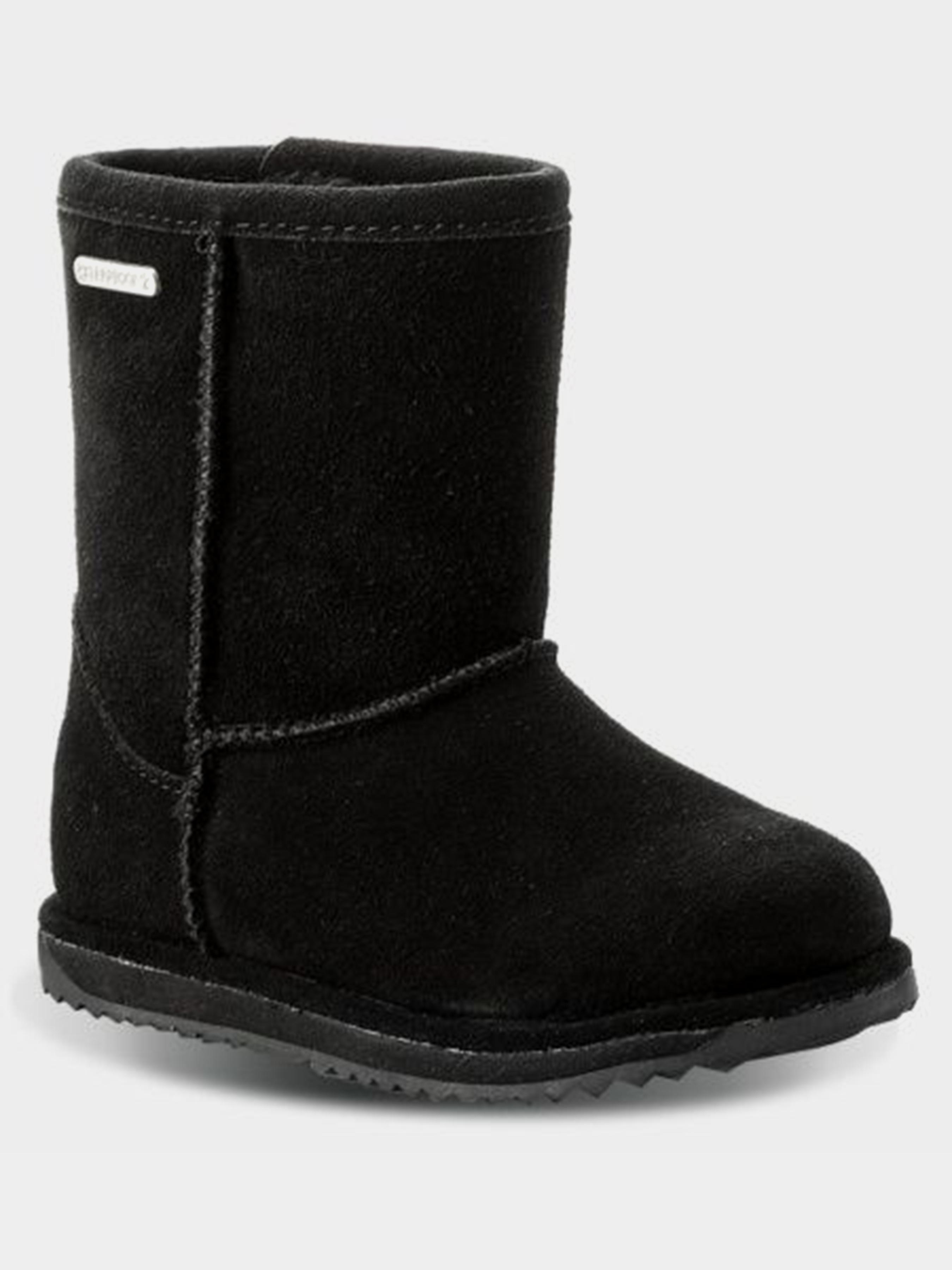 Чоботи  для дітей EMU K10773-black модне взуття, 2017