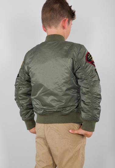 Легка куртка Alpha Industries модель YJM21001C1__sage_green — фото 3 - INTERTOP