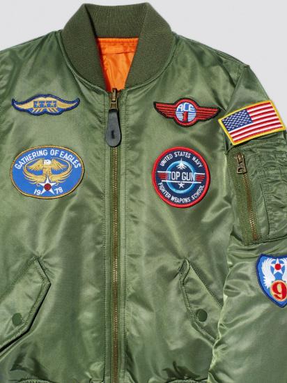 Легка куртка Alpha Industries модель YJM21001C1__sage_green — фото 4 - INTERTOP