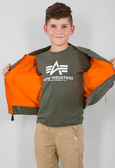 Легка куртка Alpha Industries модель YJM21001C1__sage_green — фото 5 - INTERTOP