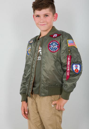 Легка куртка Alpha Industries модель YJM21001C1__sage_green — фото - INTERTOP