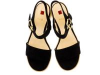 Босоножки для женщин Hogl 3-106222(0100) размеры обуви, 2017