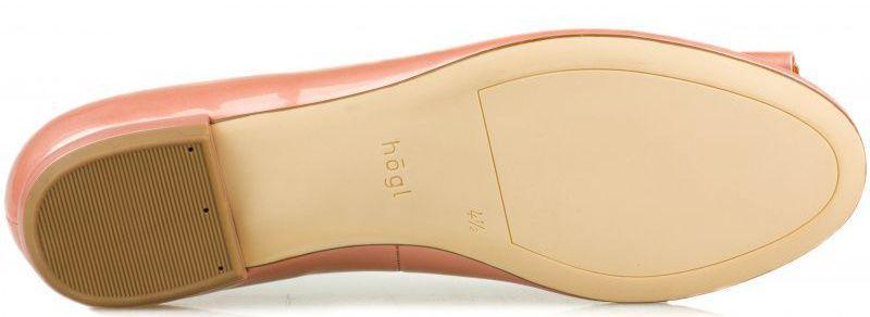 Балетки для женщин Hogl YN3824 размерная сетка обуви, 2017