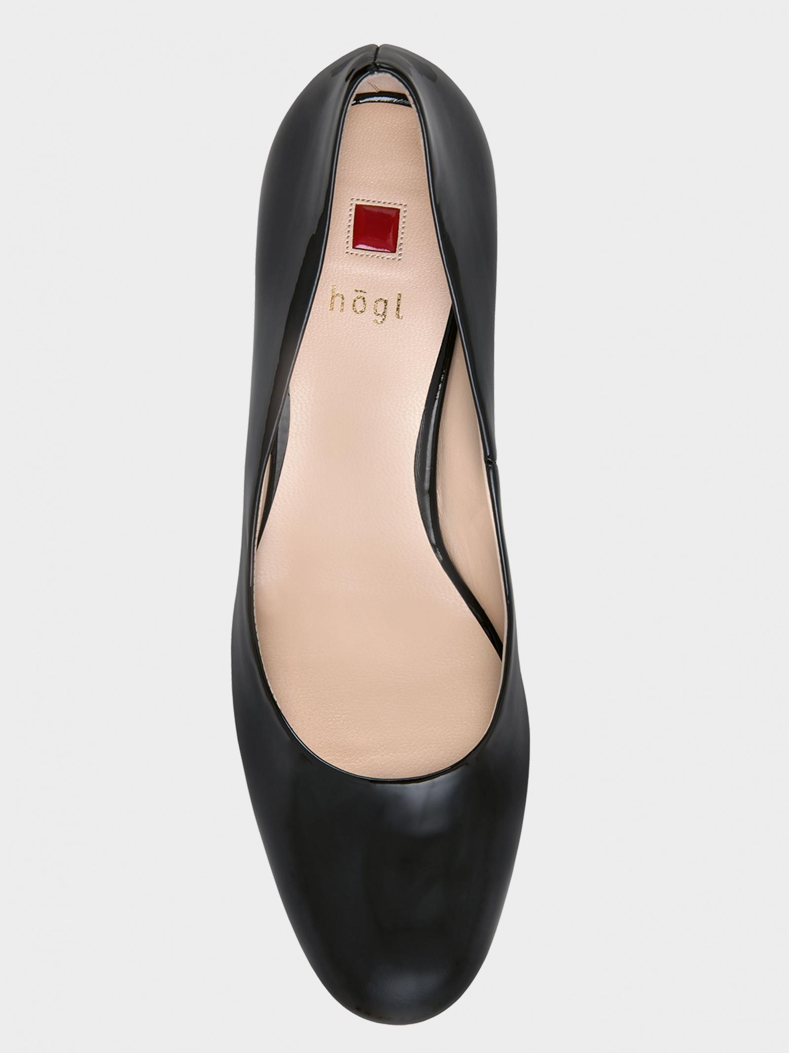 Туфлі  жіночі Hogl STUDIO 50 8-125004-0100 купити взуття, 2017