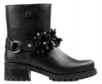 Сапоги для женщин Cult CLE102670-black модная обувь, 2017